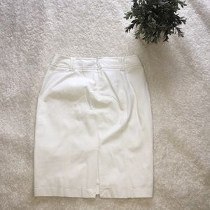 White House Black Market Skirts - White House Black Market White Skirt